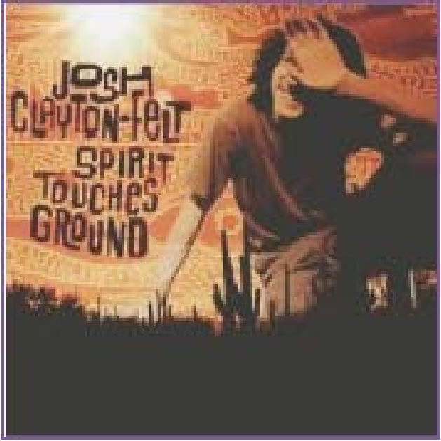 Spirit Touches Ground CD cover